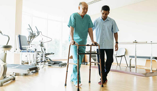 orthopedic physiotherapy at home