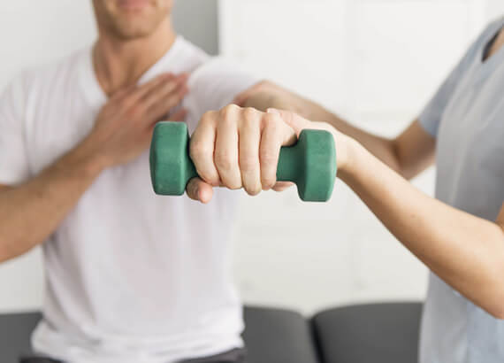Where to find physiotherapy for shoulder pain